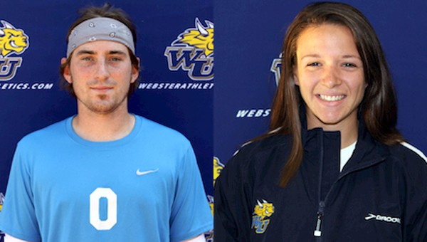SLIAC Players of the Week: Webster Soccer's Cupp, Cross Country's Heisse