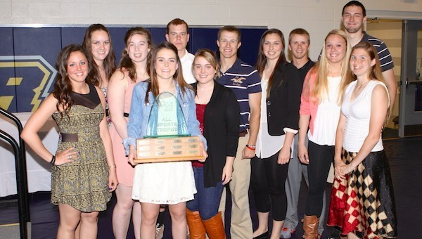 Nine in a Row! – Webster Wins 2013 SLIAC All-Sports Crown